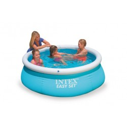 28101 бассейн intex надувной размером 183 х 51 см 886л